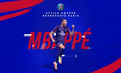 Football : Kylian Mbappé rejoint le Paris Saint Germain