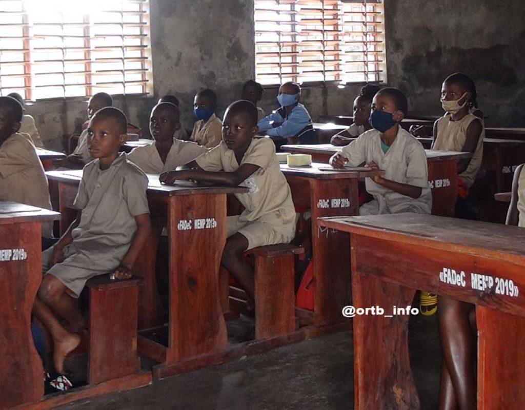 Education : les différentes facettes de la rentrée scolaire 2020 à Cotonou