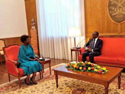 Francophonie : Louise Mushikiwabo en visite de travail au Bénin