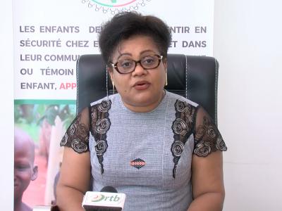 La ministre des affaires sociales Véronique Tognifodé