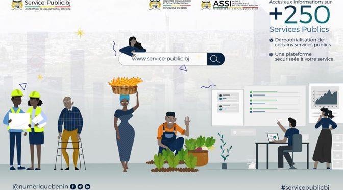 [Vidéo] A la découverte du portail national service-public.bj